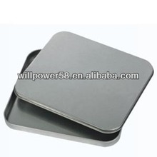 Custom square metal tin CD case