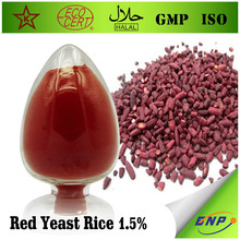 Cosmetic ingredient medicine use red yeast rice powder extract