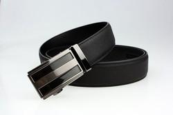 Wenzhou genuine leather belt with removable custom belt buckle