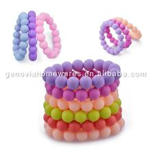 New design absolutely safe silicone jewelry with high quality