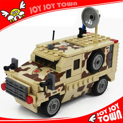 wholesale direct from china plastic toy construction kits truck build toy car blocks mini car toy bricks 84024