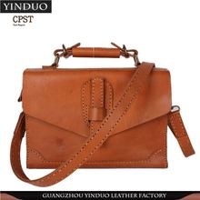 China Supplier Women Leather Messenger Bag