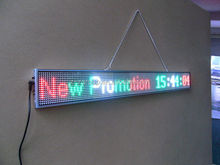 P5 super slim LED display board option size moving message