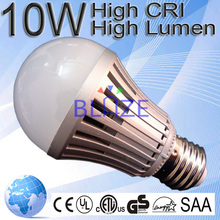 2015 Hot sale CE/ROHS/ERP Aluminum 7w 9w 10w led bulb 7w equal to 14w cfl 60w incandescent