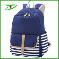2015 Wholesale fashion girls school backpack for teens, stylish backpack teens