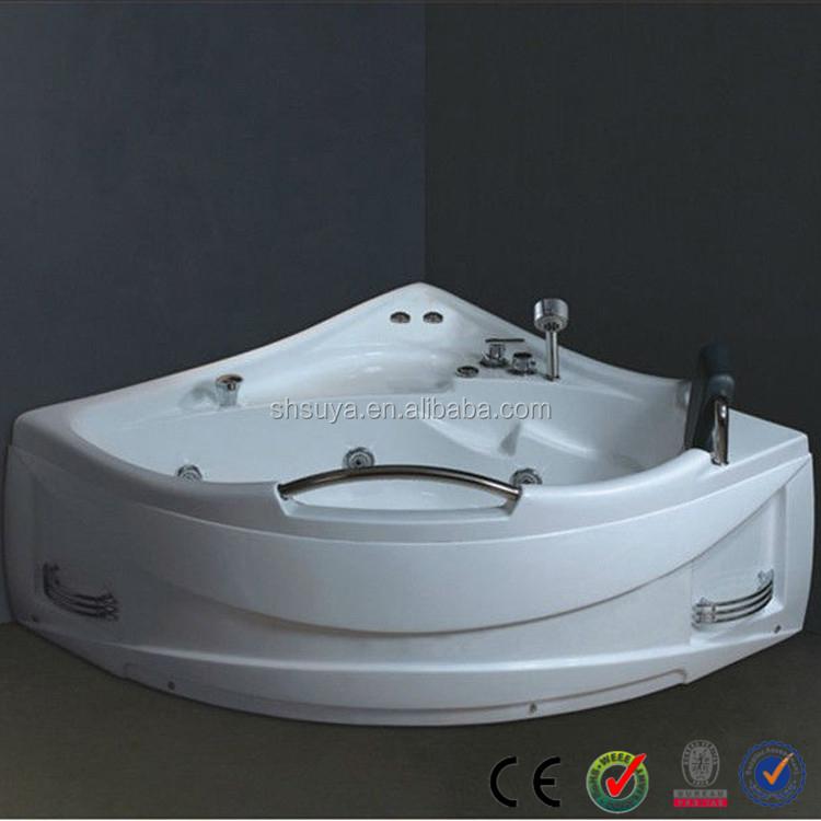 Indoor triangle acrylic massage bathtub buy massage bathtub triangle acrylic massage bathtub - Triangular bathtub ...