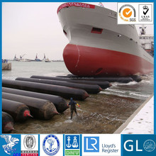 Inflatable rubber balloon,marine airbag for ship launching