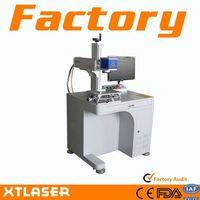 10W pigeon ring desktop fiber laser marker fiber laser marking system
