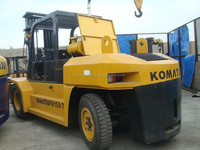 Used forklift 15 ton K0mastu FD150 Original from Japan lower price