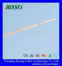 22awg teflon wire single core solid copper electric wire