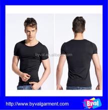High quality t shirts wholesale hemp t shirts wholesale slim fit blank t-shirt