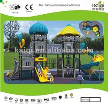 Updated KAIQI Castles series outdoor plastic playhouse/kids playground/galvanized outdoor furniture