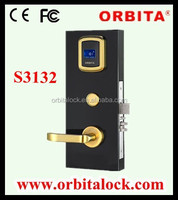 Electronic smart card intelligent door lock for hotel lock system