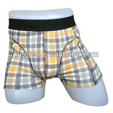 mens printed check trunks manufacturer