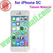 Taiwan Materials Anti Glare Screen Protector for iPhone 5C (Optional: Clear/Mirror/Diamond/Anti Glare/180 Degree Privacy)