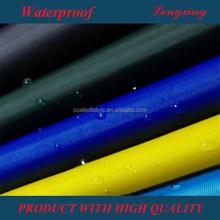 190 т полиэстер тафта пвх покрытием водонепроницаемой ткани для плащ