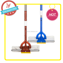 SY3191 distachable squeegee floor window mop wiper with ice scraper