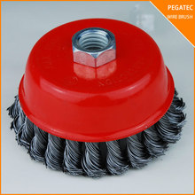 good quality cup brush 180 grit for metal with MPA EN12413 with competition price