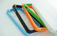 Ultra thin Slim TPU Bumper Frame Cover Case for iPhone 4S 4