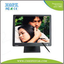 4/5 Wires Touch Screen Monitor 17 Inch with VGA