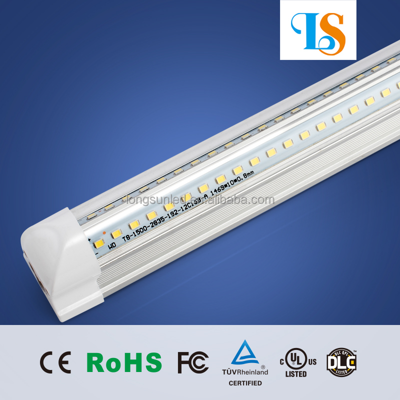 Led Light Fixtures For Walk In Cooler: Super Bright V Type 4ft 25w Led Freezer Cooler Tube Light