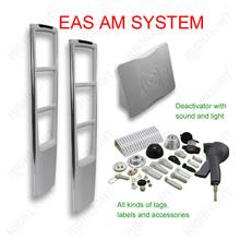 Highlight AM008 shop security alarm 58khz eas systems/ eas anti-theft gate
