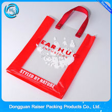 Hot sale clear pvc pouch gift bag
