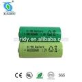 recargable de la batería aa 1000 mah