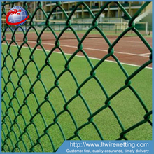 High quality pvc coated and galvanized outdoor chain link playground fence for sale