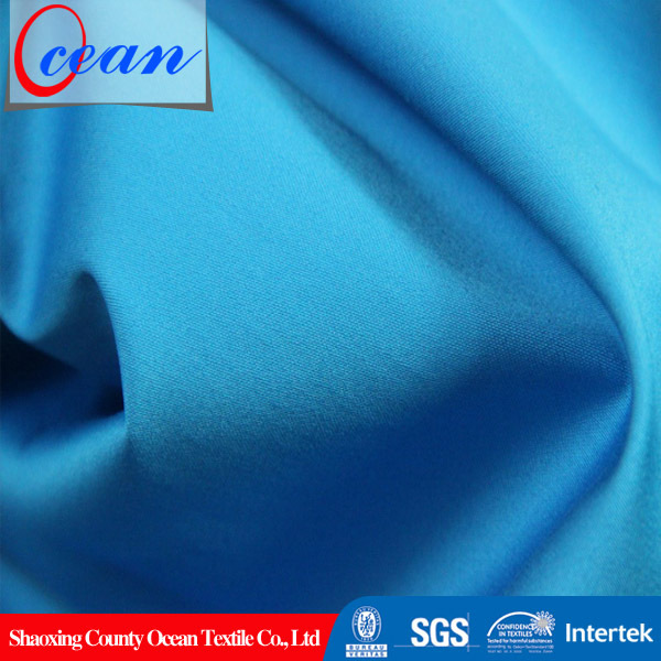 Ocean Textile 2015 Hot Selling Dyed Woven Plain Polished