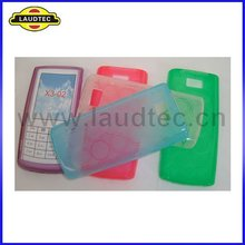 circle shape tpu gel case cover for Nokia x3-02 back case