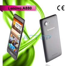 6 Inch Big Screen Dual SIM Mobile Phones Lenovo A880 MTK6582M quad core 1GB+8GB Dual SIM Card