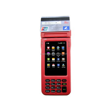4 inch all in one Handheld Pos with touch screen and keyboard at the same time---Gc062
