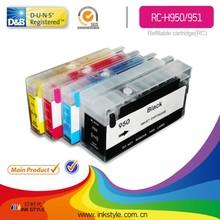 Inkstyle HP950 HP951 recarregável cartucho para hp officejet 8100 8600 imprimir dinheiro para brincar