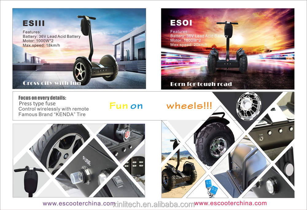 Best selling self balancing China electric chariot, Robotic transpoter