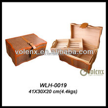 Shenzhen Handmade Leather Cigarette Box Case