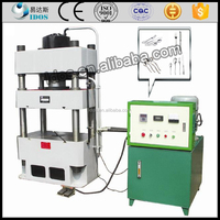 High-performanced hydraulic cold cnc press 100t, press machine for dinnerwere, dinnerwere press machine with digital protection