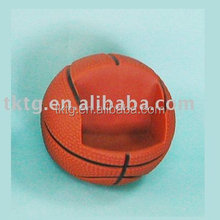 plastic basketball mobile holder (non-flocking) cell phone holder