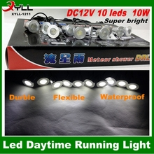 10W eagle eyes daytime running white light ,universal led drl daytime running light