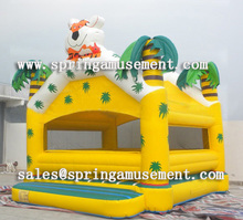 Inflatable jumping animal bouncy castle SP-AB017