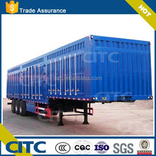 Export Cargo/Van Trailer With 40 ton trucks loading capacity loading capacity(volume and platform optional)