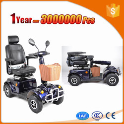 closed 2015 new style disabled mobility scooter with durable motor