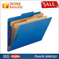 Jurong Manufacturing Paper Folder Classification Folders, A4 Size Paper Folder File