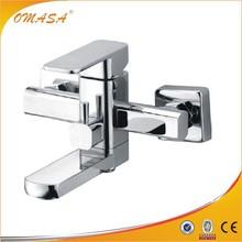 Bathrooms designs double cream bathroom faucet
