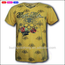 Mens summer fresh printing cotton t-shirt maker