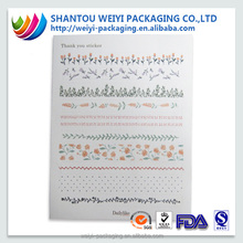 New hot popular water transfer paper print nail sticker decoration