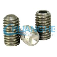 china supplier headless set screw with cup point