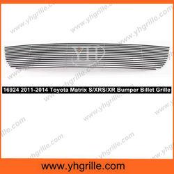Fits 2011-2014 Toyota Matrix S/XRS/XR Bumper Billet Grille