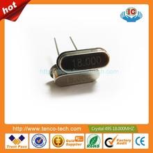 Hc-49s DIP cristal de cuarzo oscilador 16 MHz 16.000 M Hz 16.000 MHz