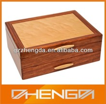 High quality custom made-in-china brown wooden chest of drawers spice box (ZDS-SE163)